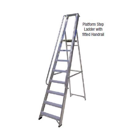 Aluminium Platform Step Ladders Sales Amp Hire