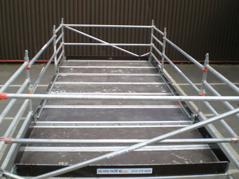 how to build a boxing ring platform