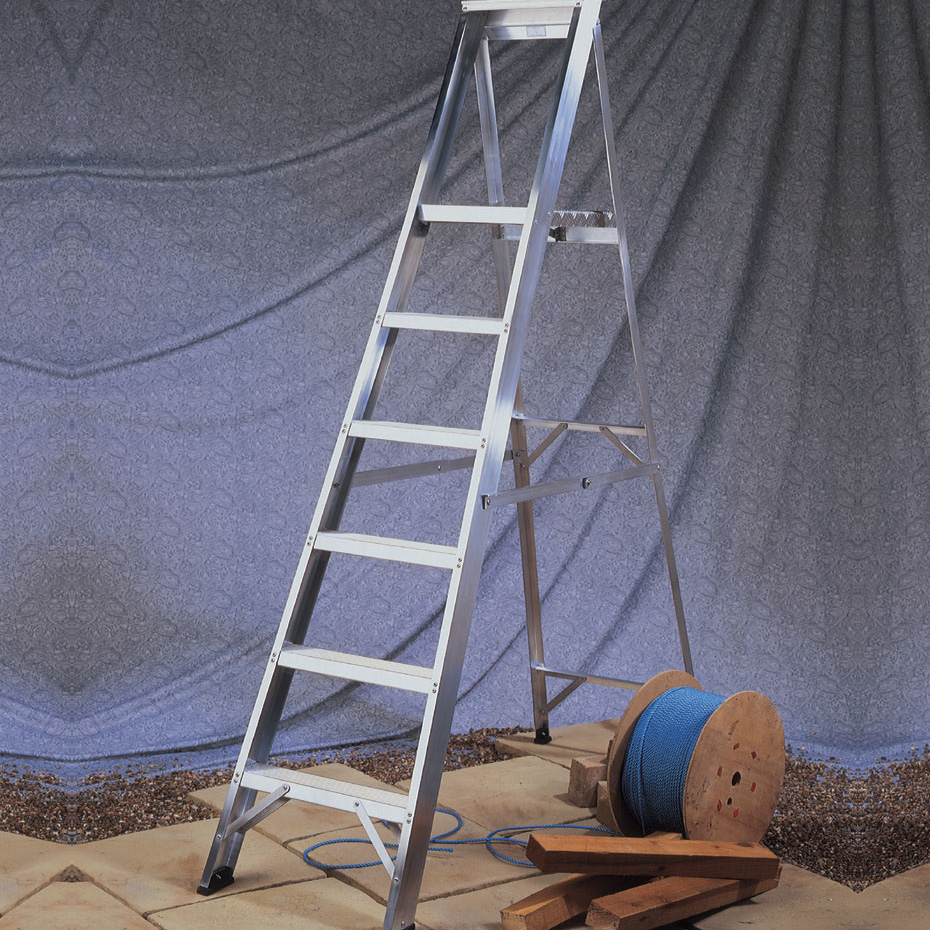 Aluminium-Platform-Step-Ladders