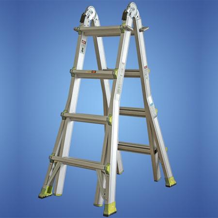 Telescopic-Step-Ladder