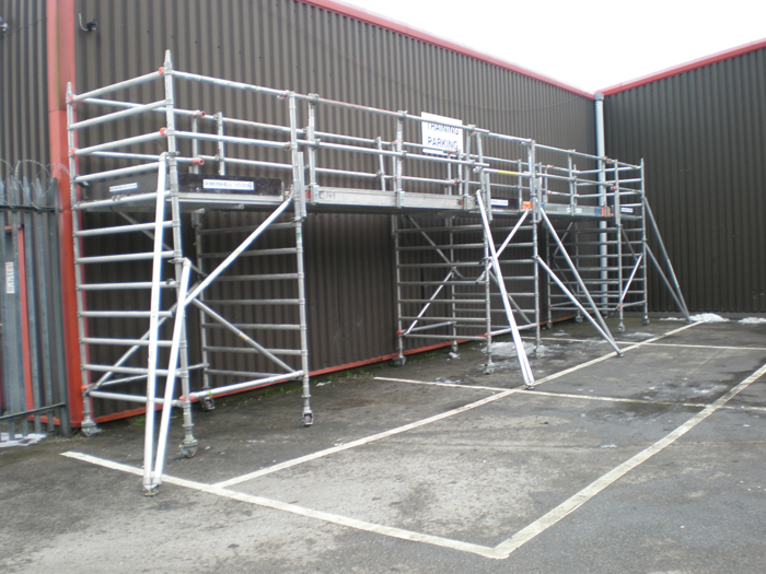 Spandeck Walkways Sales Amp Hire Leeds Yorkshire Lancashire