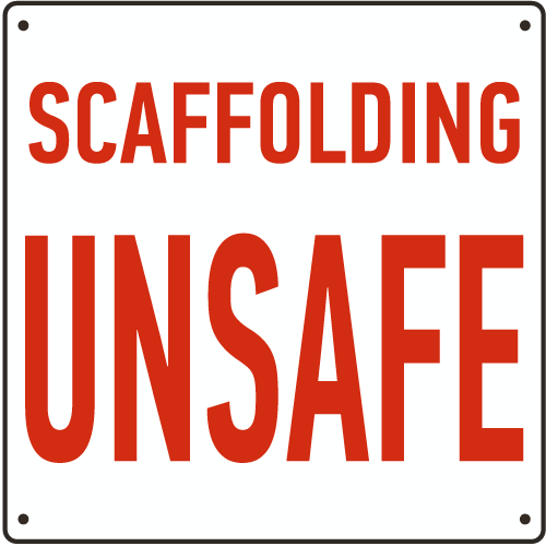 unsafe scaffolding