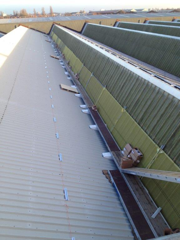 Staging Boards Aid Solar Panels Installation Zig Zag Access