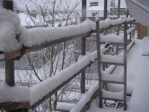 Be Scaffolding Savvy this Winter
